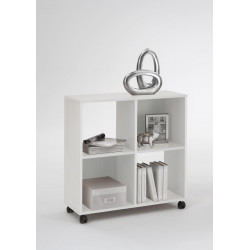 Etagère contemporaine mobile Cameron