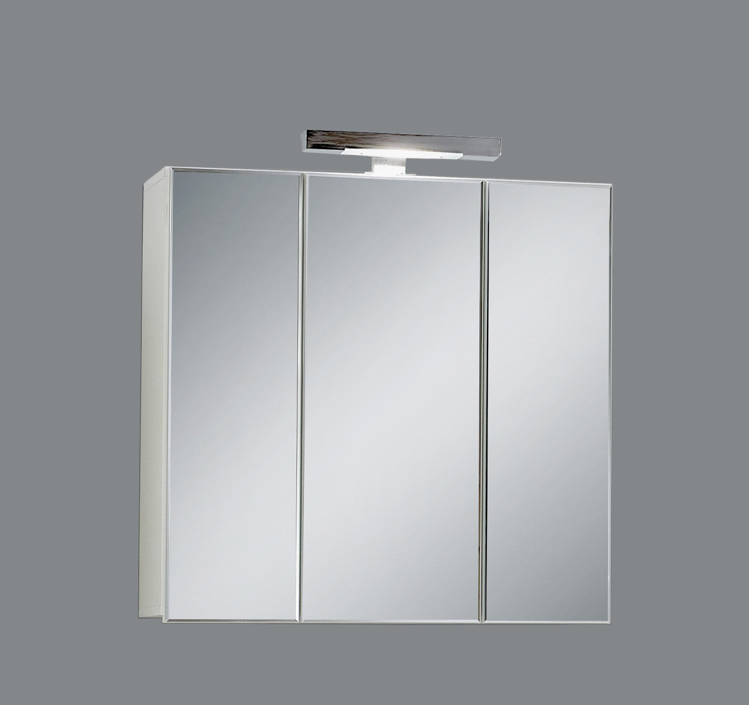 Armoire de toilette contemporaine blanche Nora