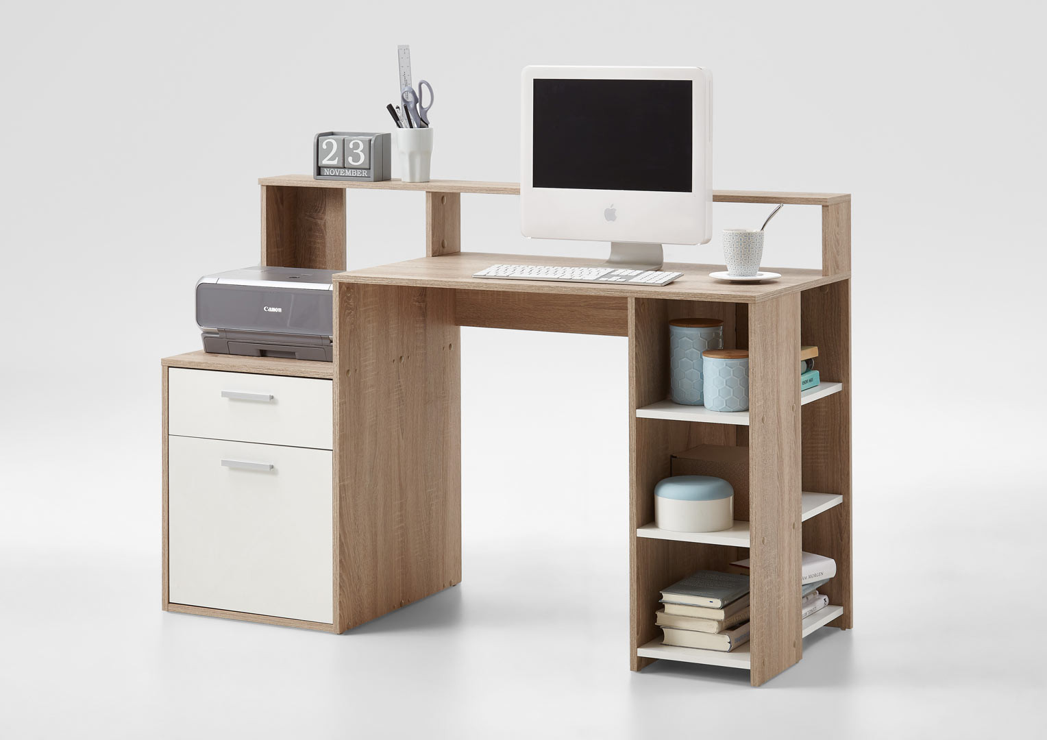 Bureau informatique contemporain Marius