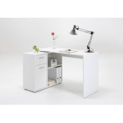 Bureau d'angle modulable contemporain Aliette