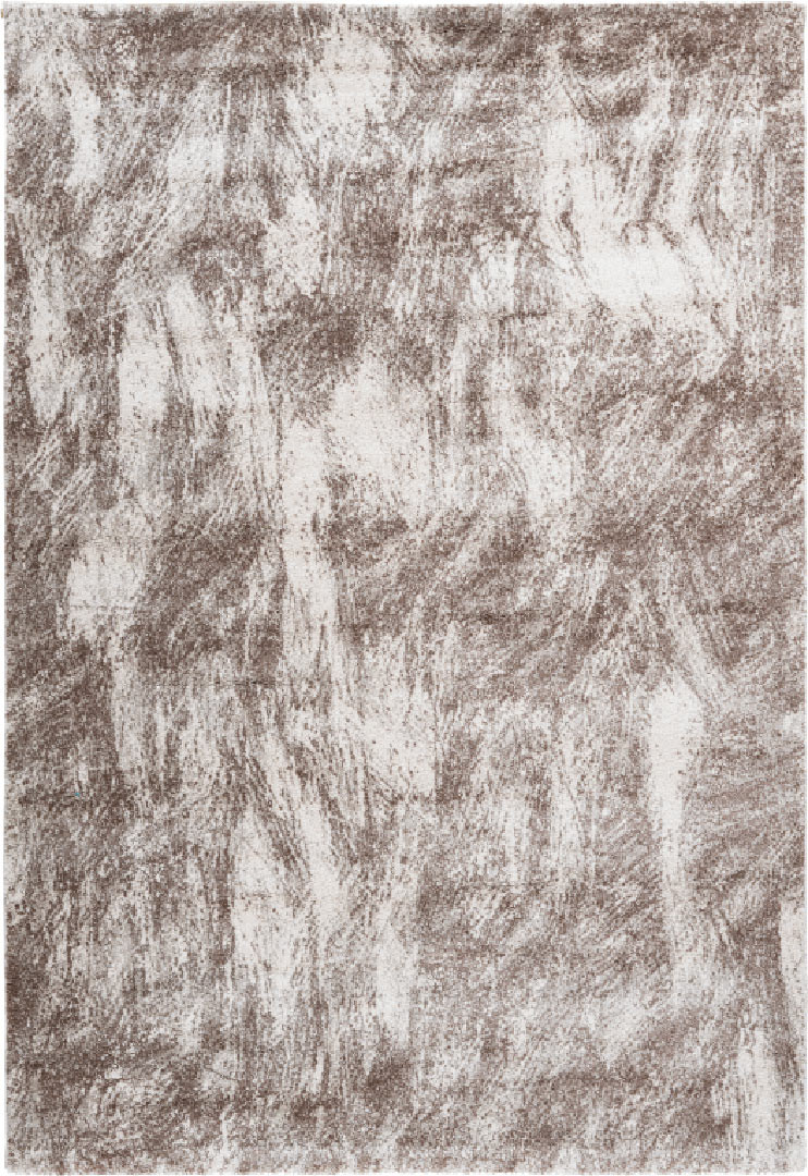 Tapis design pour salon doux rectangle Fontana