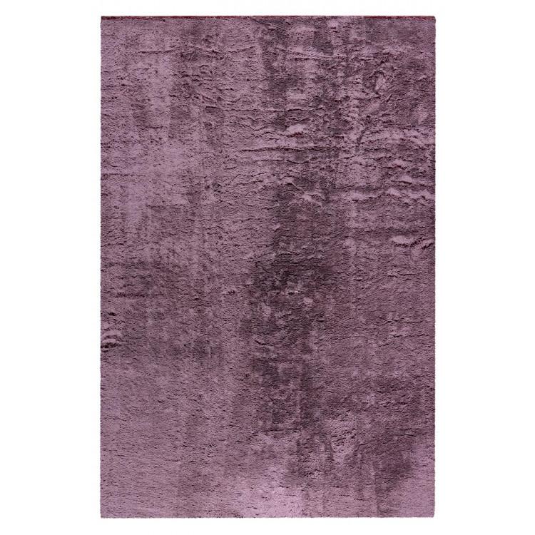 Tapis extra doux rectangle polyester uni Mistara