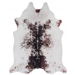 Tapis imitation peau de vache marron et blanc intérieur et extérieur Super 2