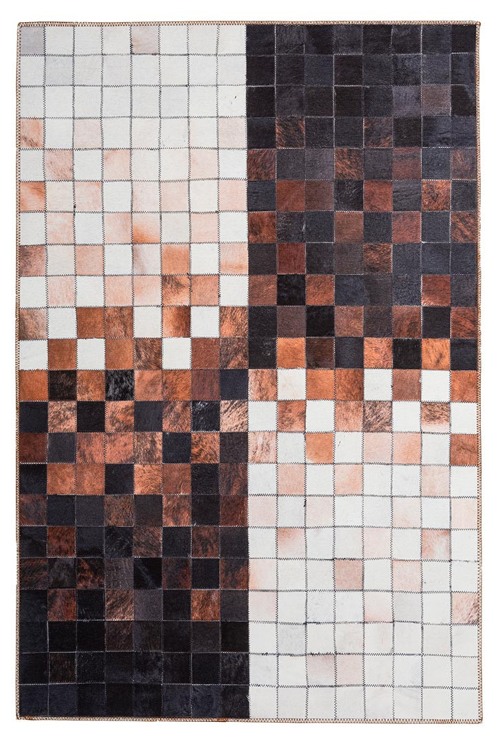 Tapis ethnique polyester multicolore intérieur patchwork Palmanova