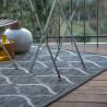 Tapis moderne intérieur et extérieur rectangle gris Globus