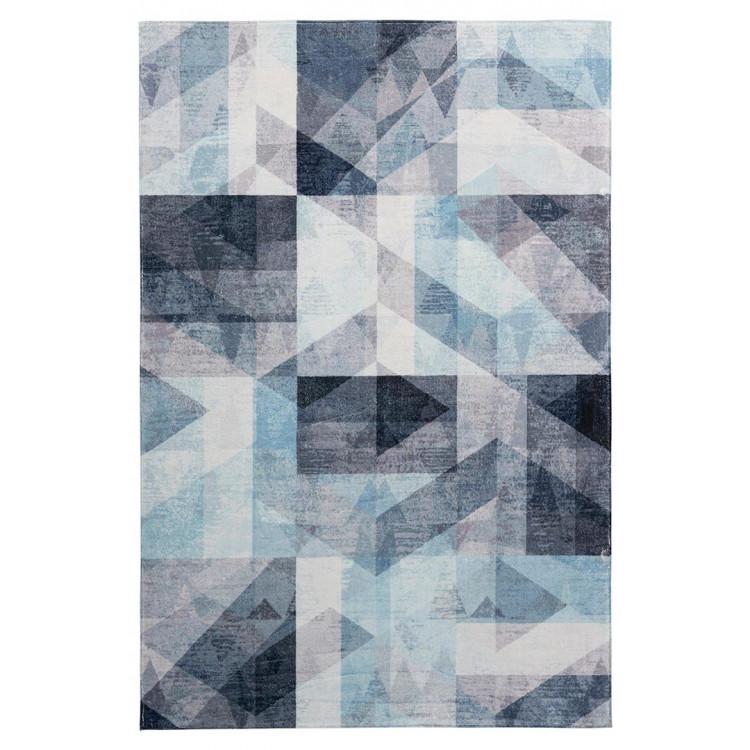 Tapis très doux scandinave graphique polyester Naphasita