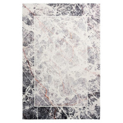 Tapis rayé très doux design rectangle polyester Tahoe