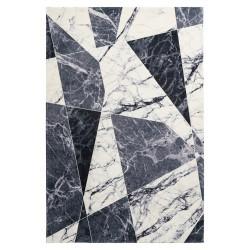 Tapis géométrique moderne très doux rectangle Brodway