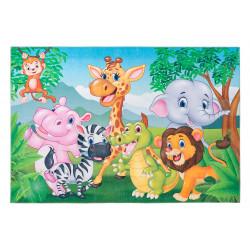 Tapis multicolore polyester pour enfant Fun