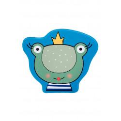 Tapis lavable en machine antidérapant multicolore enfant Frog