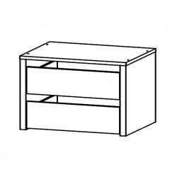 Bloc 2 tiroirs pour armoire Kigali