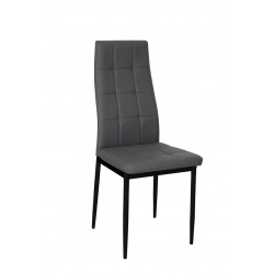 Chaise de salle à manger moderne en PU (lot de 4) Johanna