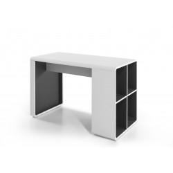Bureau moderne blanc/anthracite Romeo