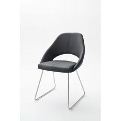 Chaise de salle à manger design en PU (lot de 2) Diana