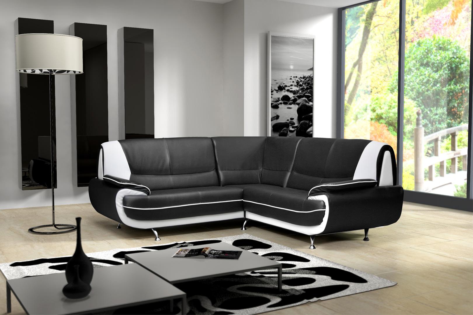 Canapé d'angle design Como