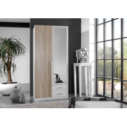 Armoire adulte contemporaine 91 cm Kattie