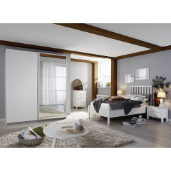 Chambre adulte moderne blanche San Francisco