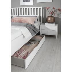 Tiroir de lit blanc San Francisco