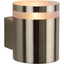 Applique design d'extérieur en acier Ø9 cm Electa