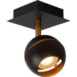 Plafonnier design 1 spot boule Sevina