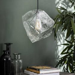 Suspension contemporaine en verre soufflé 1 lampe Jack