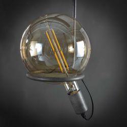 Ampoule LED filament E27 8W Ø20 cm