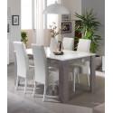 Table de salle à manger moderne laquée Odetta