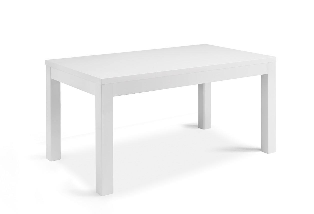 Table de salle à manger rectangulaire moderne laquée Cristal