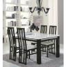 Table de salle à manger moderne laquée Medusa