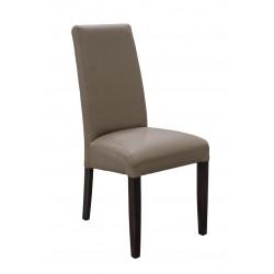 Chaise de salle à manger en PU taupe (lot de 2) Adriana II