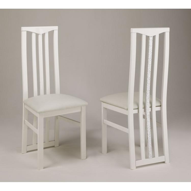 Chaise de salle à manger moderne (lot de 2) Melvine
