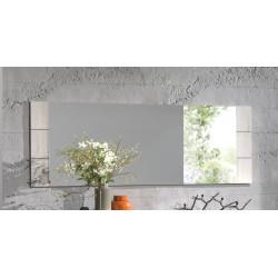 Miroir rectangulaire chêne blanchi Bianca