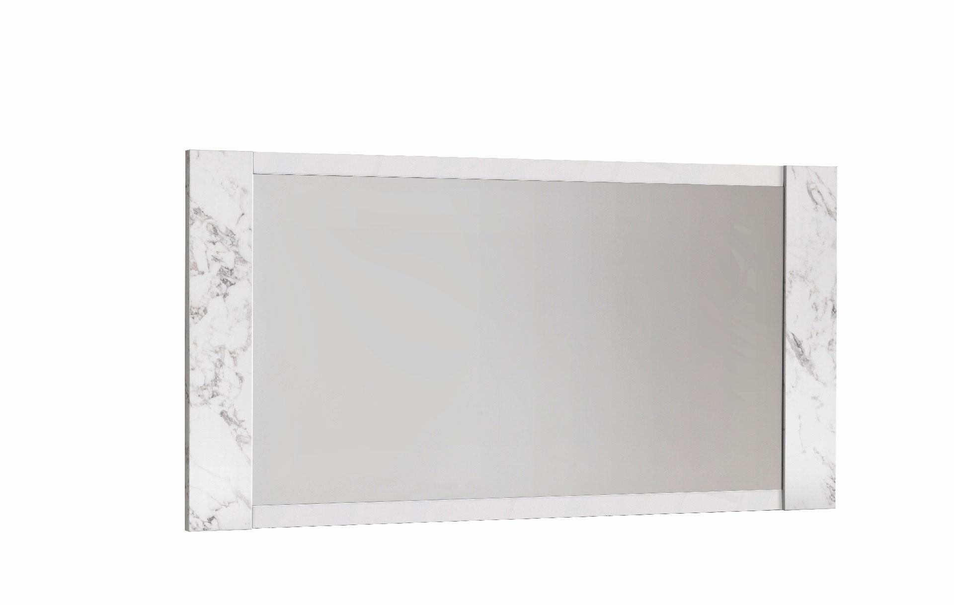 Miroir rectangulaire marbré Victoire