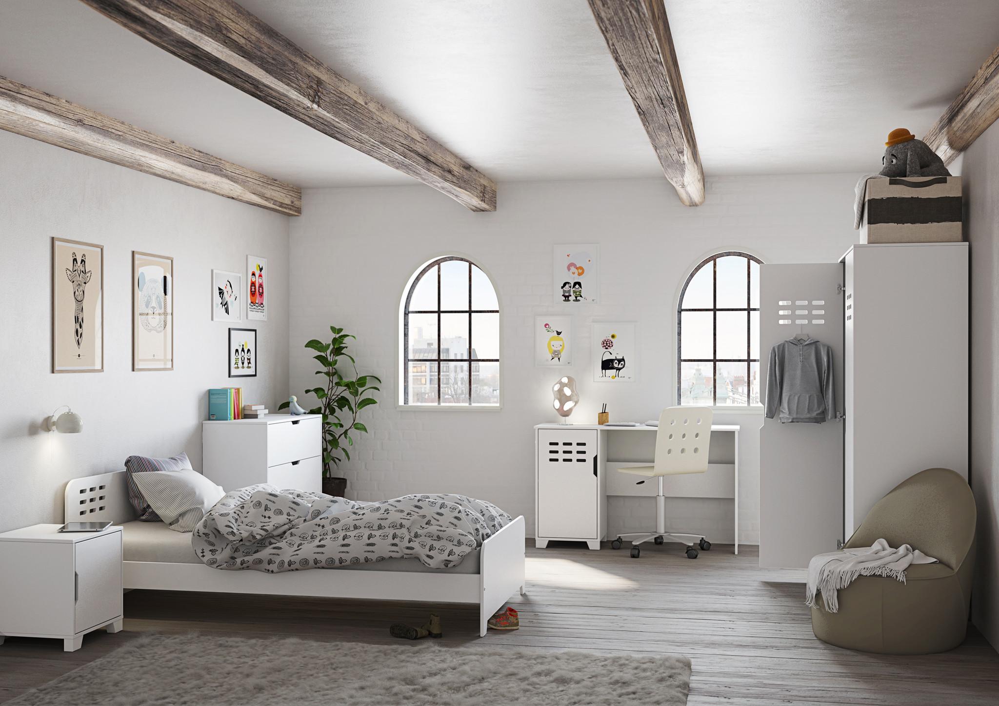 Chambre enfant style industriel Koaline