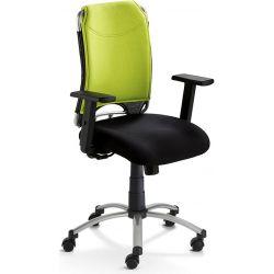 Chaise de bureau moderne réglable en hauteur avec accourdoirs Lea