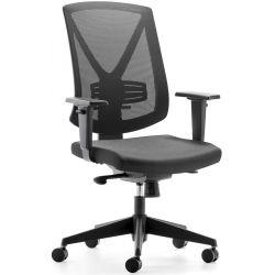 Chaise de bureau moderne réglable en hauteur avec accourdoirs Sarah
