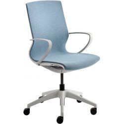 Chaise de bureau moderne réglable en hauteur avec accourdoirs Josephine