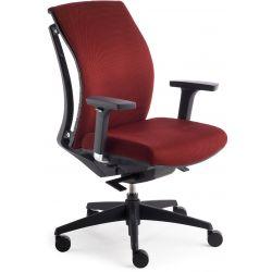 Chaise de bureau réglable en hauteur avec accoudoirs Daphné