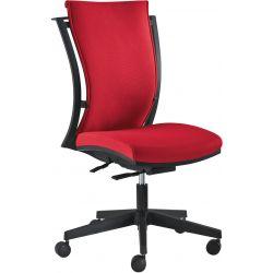 Chaise de bureau réglable en hauteur avec accoudoirs Dany