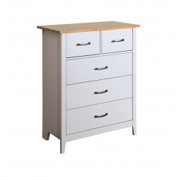 Commode style nature grise 77 cm Boreal