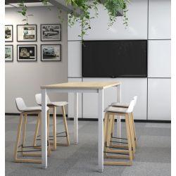 Table haute de réunion moderne Lexie