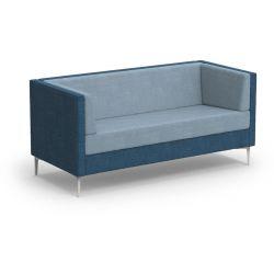 Canapé d'accueil 2 place avec coussins latéraux Oriana