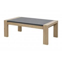 Table basse moderne chêne/gris Benny