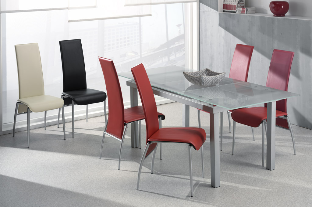 Chaises de salle à manger design (lot de 2) Ilena