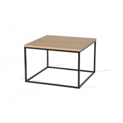 Table basse carrée industrielle 40 cm Helisa I