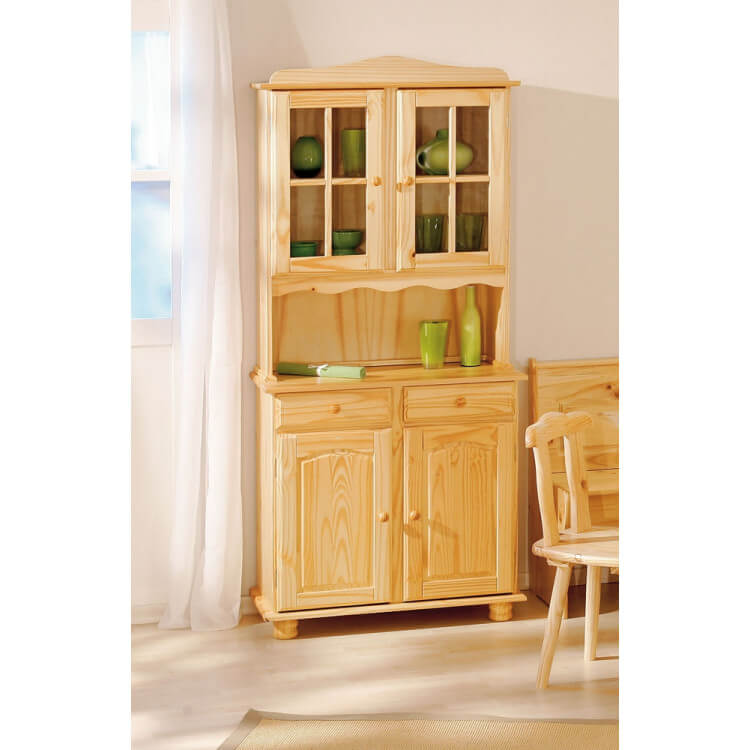 Buffet rustique en pin massif naturel Madrid