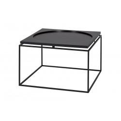 Table basse industrielle carrée 60 cm Chicago