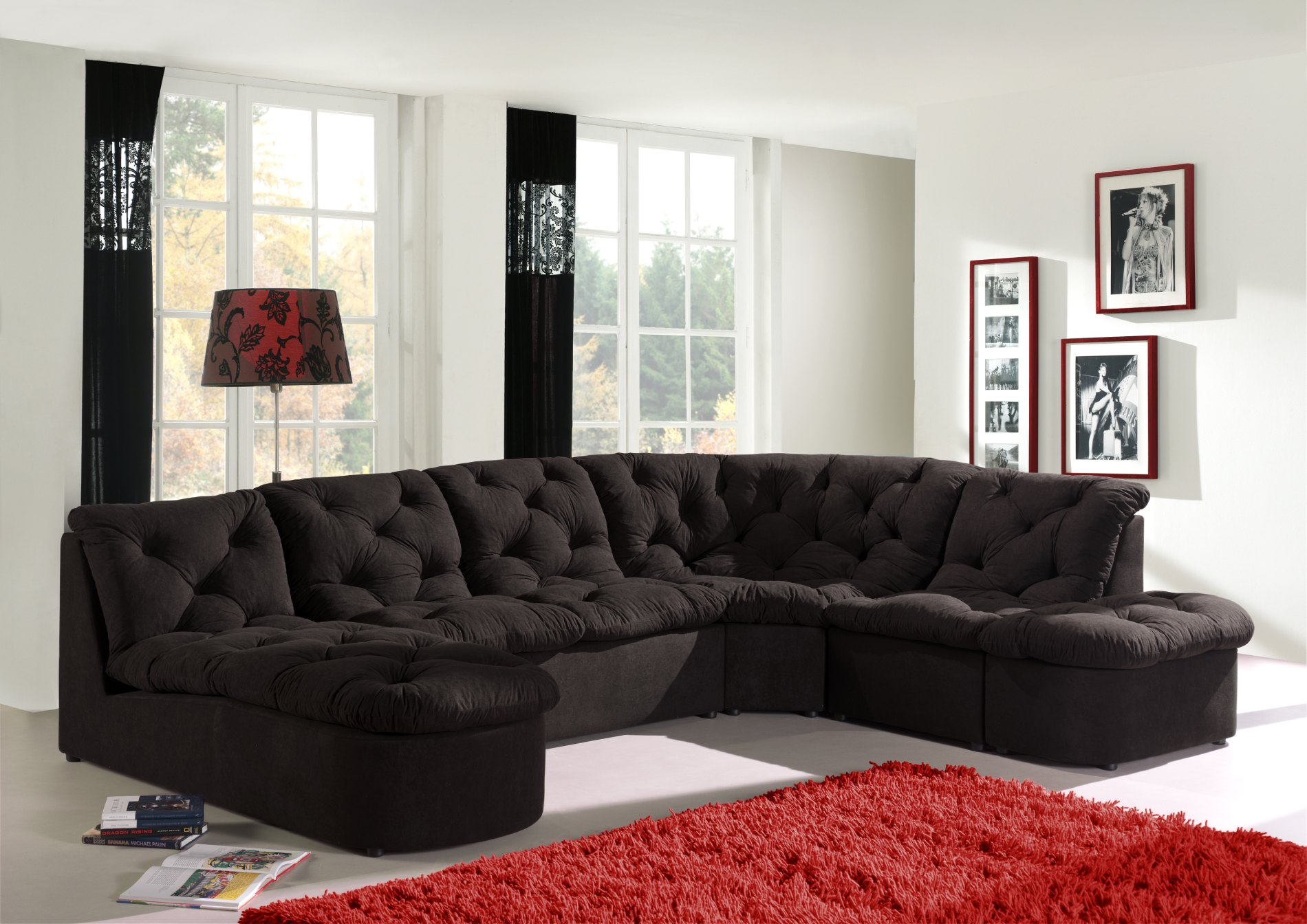 Canapé d'angle modulable CORDOBA