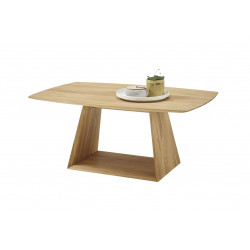 Table basse style nature en bois massif Charline