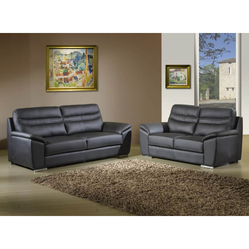 canap fixe 3 places savoie. Black Bedroom Furniture Sets. Home Design Ideas
